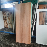 NEW - SOLID TIMBER MAPLE FINISH - 880w x 2035h, 890w x 2350h - RRP $840.00 - Sale Price $120.00/Each