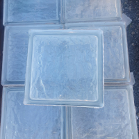 Used - Glass Bricks - Opaque - 190 x 190 x 80 - 32 In Stock