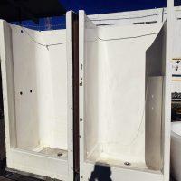 Shower Cubicles - Left 800w x 750d x 1800h // $120.00